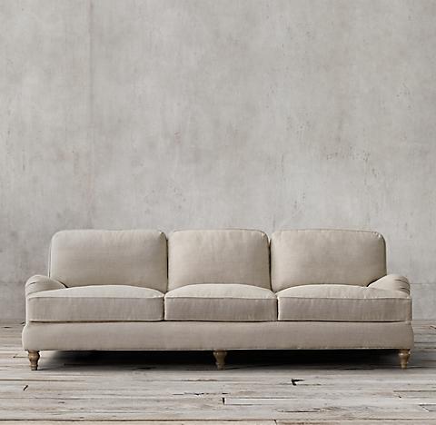 english roll arm sofa English Roll Arm Collection | RH english roll arm sofa