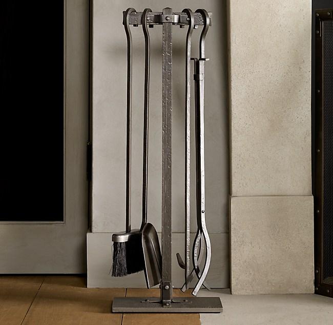 Rivet Hearth Tool Set