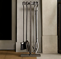 Rivet Hearth Tool Set