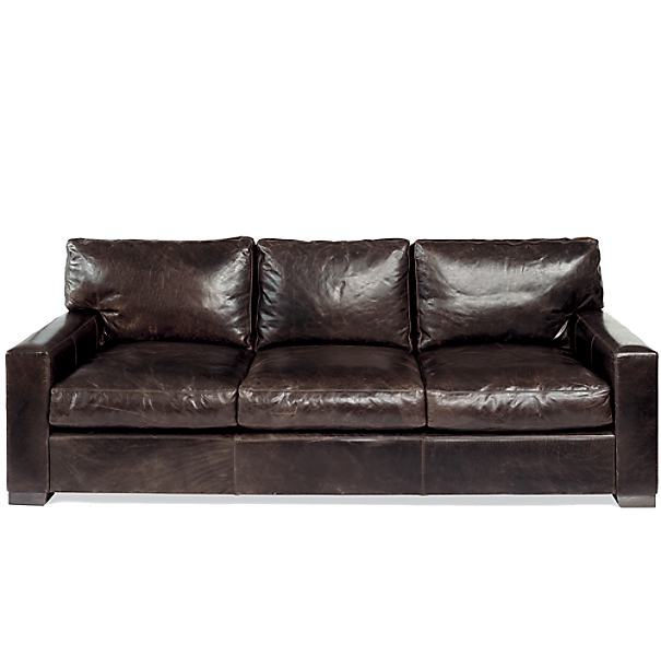 Maxwell Leather Sleeper Sofa
