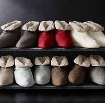 Ultimate Luxury Plush Foot Duvets