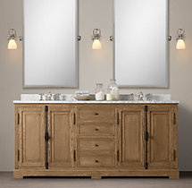 French Casement Double Vanity Sink