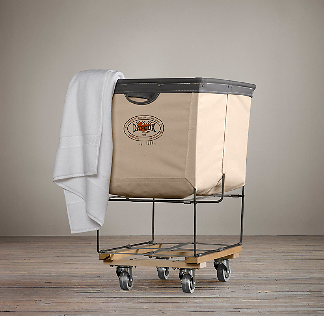 Laundry Cart Rectangular Collection Natural COLOR PREVIEW UNAVAILABLE