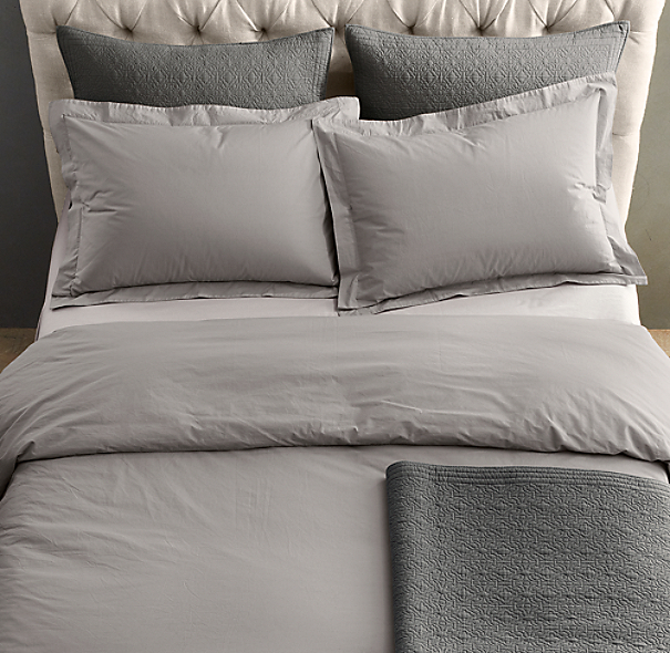 Restoration Hardware Bedroom Colors Cute Black And White Bedroom Ideas Little Boy Bedroom Furniture Girls Bedroom Colour Ideas: Italian 50-Year-Wash Vintage Duvet Cover