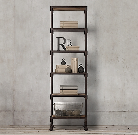decor pipe f products kitchen hanging iron rustic shelf wall industrial shelves
