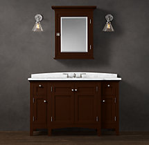 Cartwright Extra-Wide Single Vanity Sink