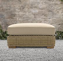 Provence Classic Ottoman Cushion