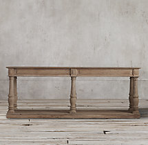 Distressed Rectory Large Console