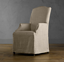 Replacement Slipcover for Hudson Camelback Slipcovered Armchair