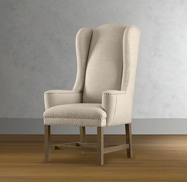 Belfort Wingback Upholstered Dining Chair Set Of 6