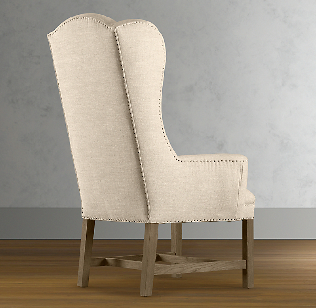 Superb Belfort Wingback Fabric Armchair Pabps2019 Chair Design Images Pabps2019Com