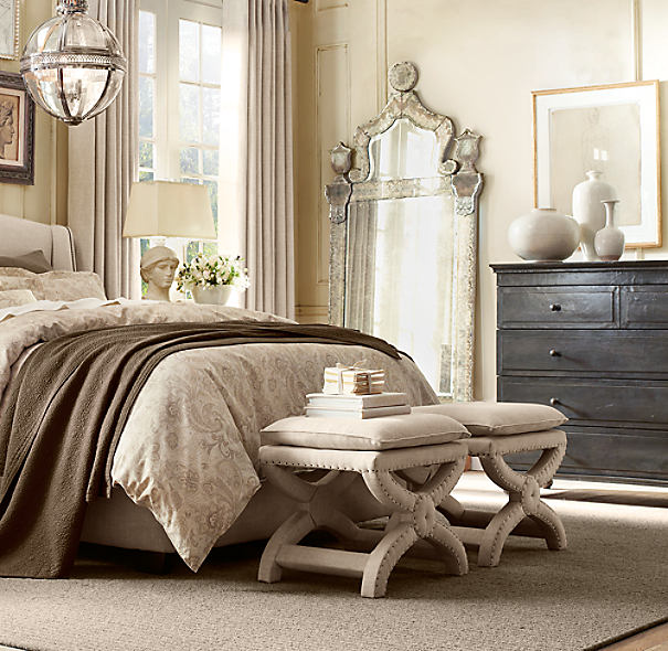 Annecy Metal Wrapped 5 Drawer Dresser