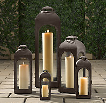 Duomo Lanterns - Weathered Bronze