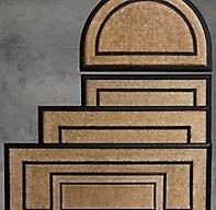 Coir With Rubber Frame Doormat