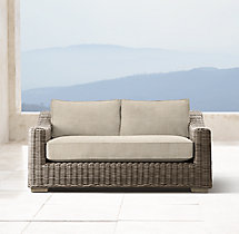 "62"" Provence Luxe Sofa Cushions"