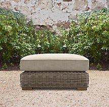 Provence Luxe Ottoman Cushion