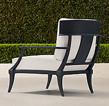 Klismos Classic Lounge Chair