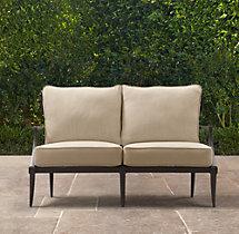 "48"" Klismos Classic Sofa Cushions"