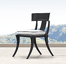 Klismos Luxe Side Chair