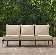 "70"" Klismos Classic Sofa Cushions"