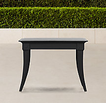Klismos Square Side Table