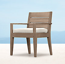 Belvedere Armchair - Weathered Teak