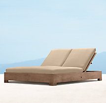 Belvedere Double Chaise Cushions