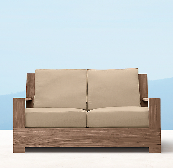 "Restoration Hardware Warranty: 55"" Belvedere Luxe Sofa"