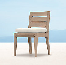 Belvedere Side Chair - Weathered Teak