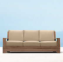 "78"" Belvedere Luxe Sofa Cushions"
