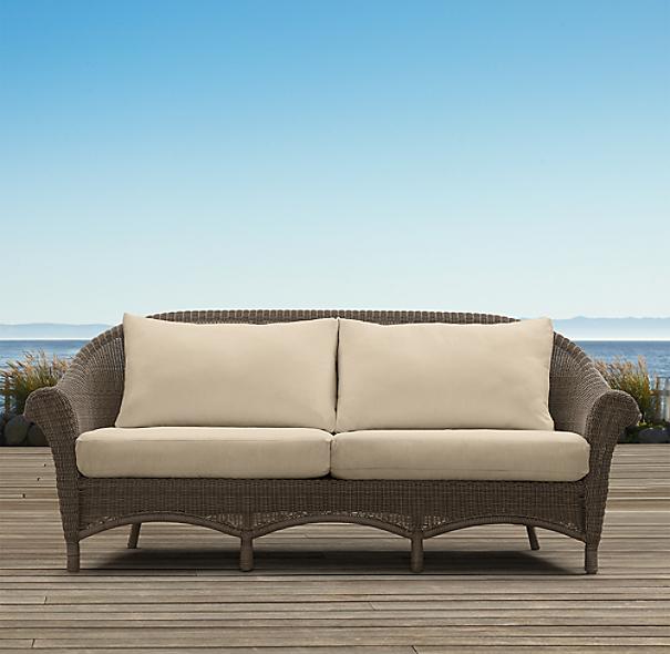 "Restoration Hardware Kijiji: 81"" Hampshire Sofa"