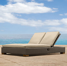 Del Mar Double Chaise Cushions