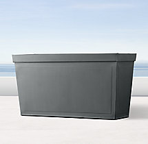 Paneled Sheet Metal Trough Planter