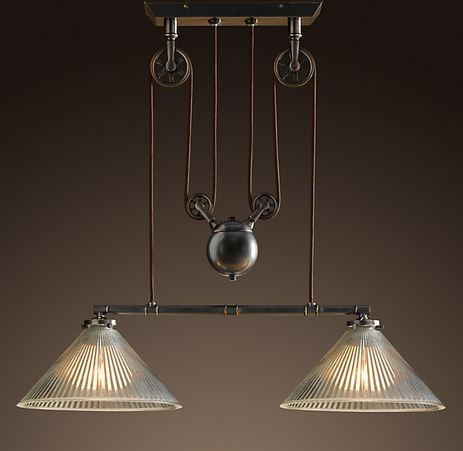Industrial pulley double pendant aloadofball Images