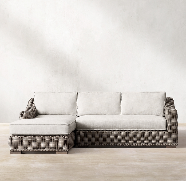 Clic Left Arm Sofa Chaise Sectional