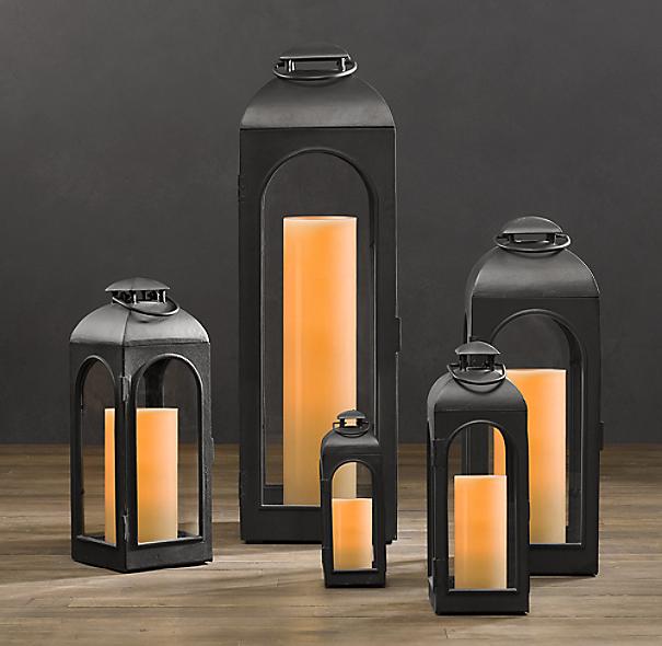 Restoration Hardware Outdoor Lighting Reviews: Weathered Zinc