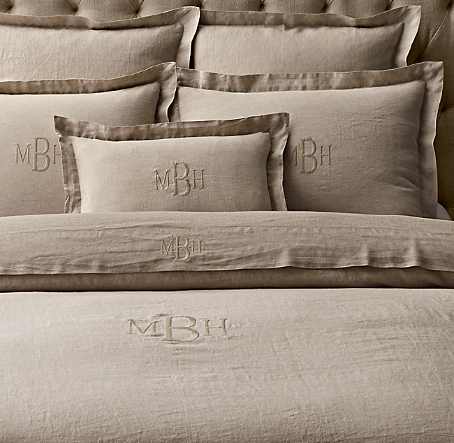 Find Many Great New Used Options And Get The Best Deals For Restoration Hardware Sa Piped Pique Duvet Cover White At Online Prices