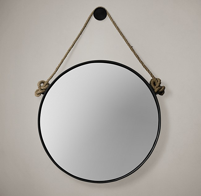 Well known Iron and Rope Mirror ZN95