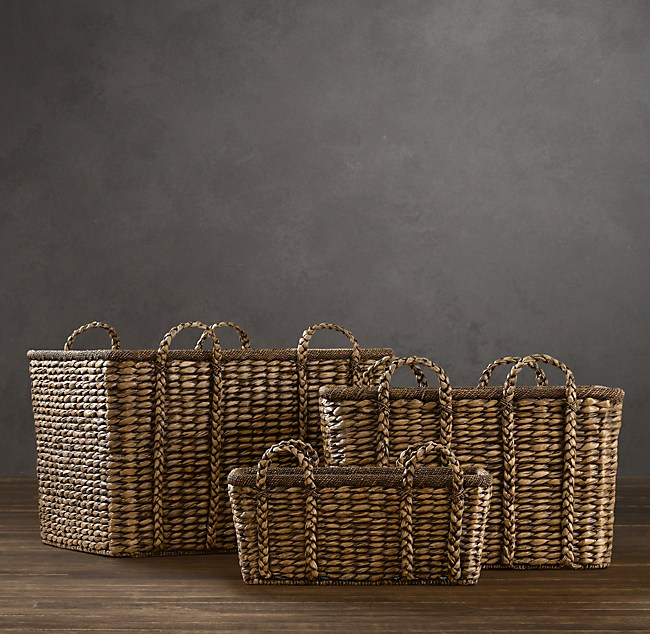 Seagrass Baskets Brown