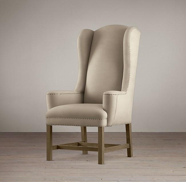 Belfort Wingback Fabric Armchair