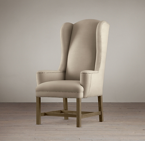 Belfort Wingback Chair Collection Rh