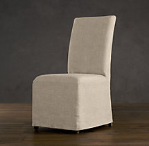 Hudson Parsons Slipcovered Side Chair