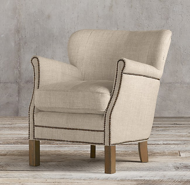 Professors Chair With Nailheads