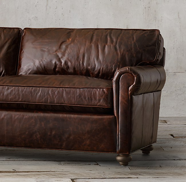 112 Original Lancaster Leather Sofa