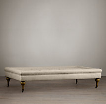 Tufted Coffee Ottoman