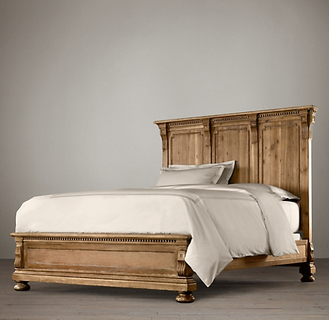 All Wood Beds | RH