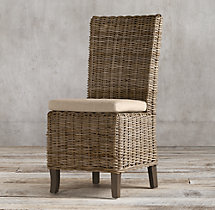 Handwoven Rattan Chair Cushion