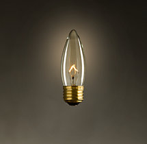 Torpedo Filament Incandescent Bulb (Set of 6)