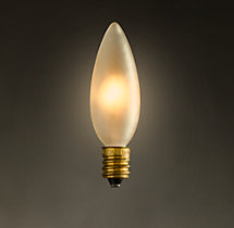 Torpedo Frost Candelabra Incandescent Bulb (Set of 6)
