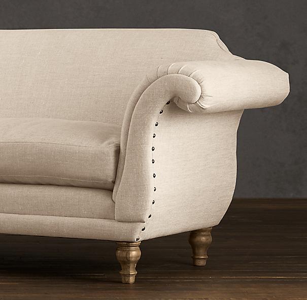 Regency Upholstered Sofa
